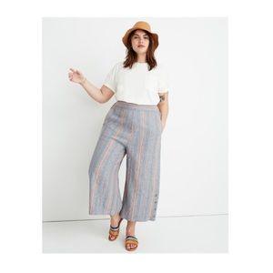 Madewell Tall Rainbow Stripe Huston Pull On Pants